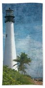 Cape Florida Lighthouse 2 Bath Towel