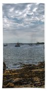 Cape Porpoise Maine - In The Evening Bath Towel