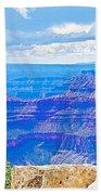 Cape Royal Blue On North Rim Of Grand Canyon-arizona Bath Towel