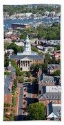Capital Of Maryland In Annapolis Bath Towel
