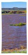 Caprock Canyon-lake Scenic Bath Towel