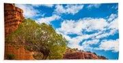 Caprock Canyon Tree Hand Towel