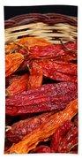 Capsicum Baccatum Chilis Hand Towel