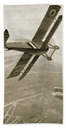 Captain Hawkers Aerial Battle Hand Towel