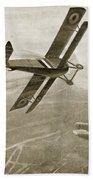 Captain Hawkers Aerial Battle Bath Towel