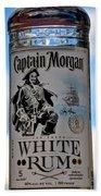Captain Morgan White Rum Bath Towel