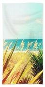 Captiva Island Photography Light Leaks Bath Towel