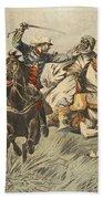 Capture Of Samory By Lieutenant Bath Towel