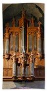 Carcassonne Organ Bath Towel