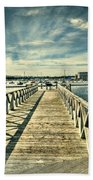 Cardiff Bay Wetlands 2 Bath Towel