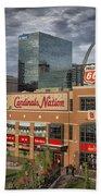 Cardinals Nation Ballpark Village Dsc06175 Bath Towel