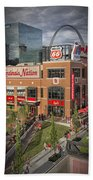 Cardinals Nation Ballpark Village Dsc06176 Bath Towel