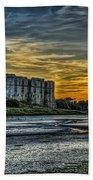 Carew Castle Sunset 3 Bath Towel