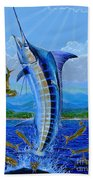 Caribbean Blue Off0041 Bath Towel
