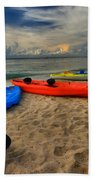 Caribbean Kayaks Bath Towel