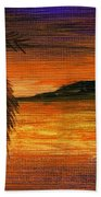Caribbean Sunset Bath Towel