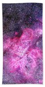 Carina Nebula Panorama Bath Towel
