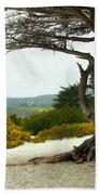 Carmel California Beach Bath Towel