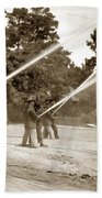 Carmel Fire Department California Circa 1930 Bath Towel