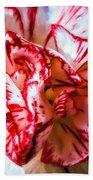 Carnation Watercolor Bath Towel