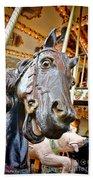 Carousel Horse Head Bath Towel