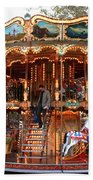 Carousel In Avignon Bath Towel