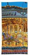 Carousel In Bournemouth Bath Towel