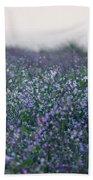Carpinteria California Wildflowers Bath Towel