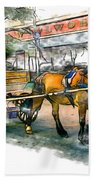 Carriage Ride Hand Towel