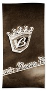 Carrozzeria Boano Emblem Bath Towel