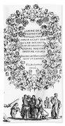 Cartouche, 1635 Bath Towel