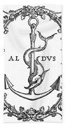 Cartouches, 1545 Hand Towel