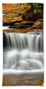 Cascades At Ricketts Glen Bath Towel