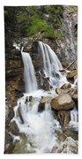Cascades In Bavaria Bath Towel