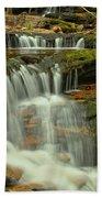 Cascading Everywhere At Ricketts Glen Bath Towel
