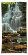 Cascading Through Ricketts Glen Bath Towel