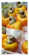 Cashew Fruit - Mercade Municipal Bath Towel