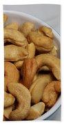 Cashews - Nuts - Snack Food Bath Towel