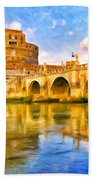 Castel Sant'angelo Bath Towel