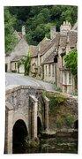 Castle Combe Cotswolds Village Bath Towel