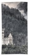 Castle Neuschwanstein  Bath Towel