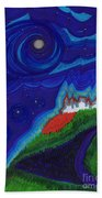 Castle On The Cliff By Jrr Bath Towel