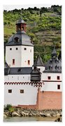 Castle Pfalzgrafenstein Bath Towel