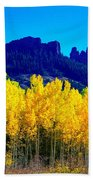 Autumn Castle Rock Aspens Bath Towel