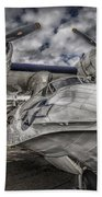 Catalina Pby-5a Miss Pick Up Hdr Bath Towel