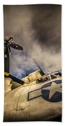Catalina Pby-5a Miss Pick Up Low Angle Bath Towel