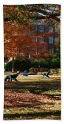 Catching Rays - Davidson College Bath Towel