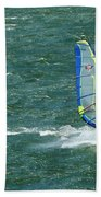 Catching Wind And Surf Bath Towel