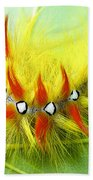 Caterpillar 2 Bath Towel