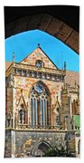 Cathedral Colmar France Bath Towel